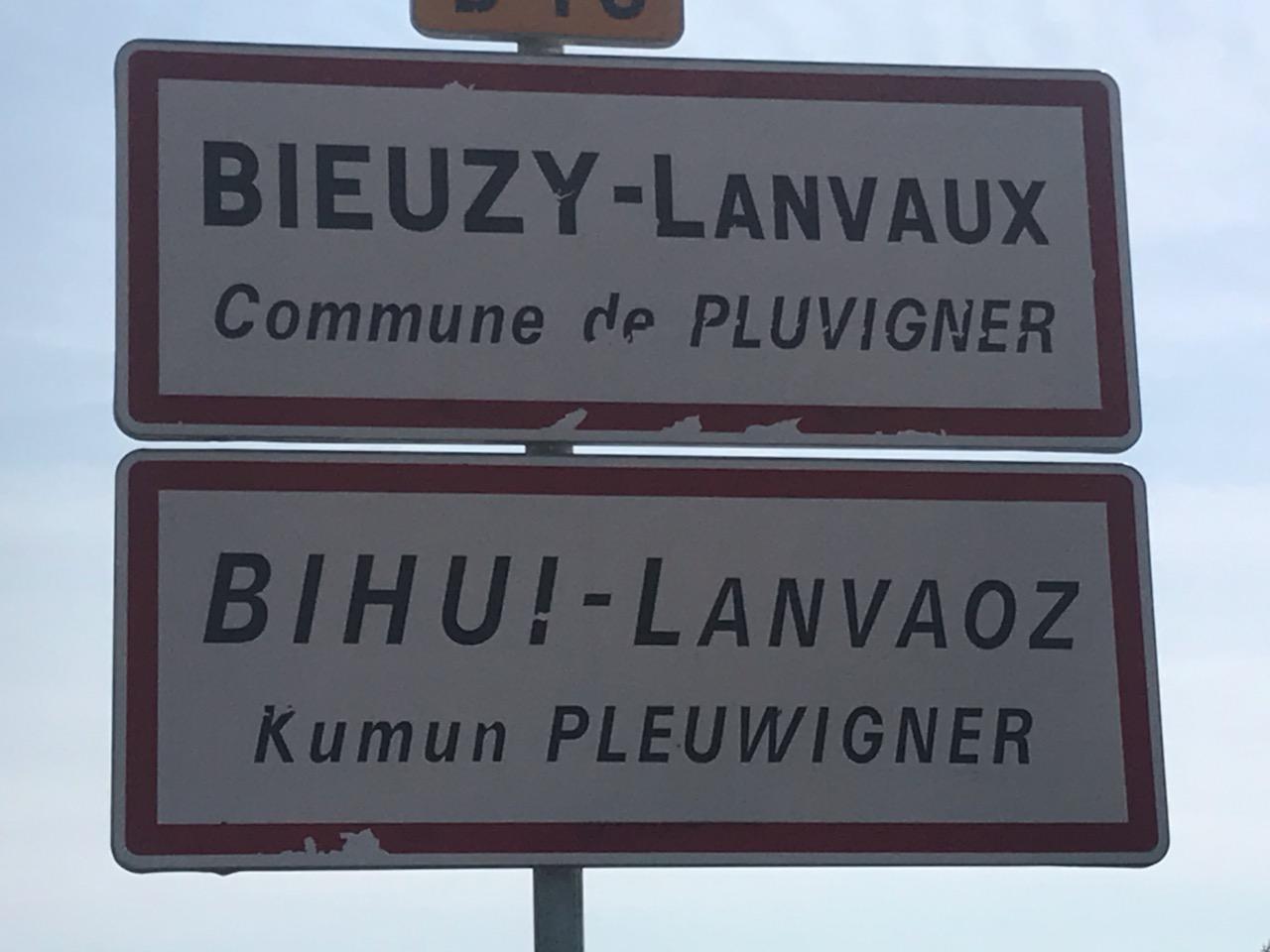 PLUVIGNER - BIEUZY LANVAUX PONTERLIC