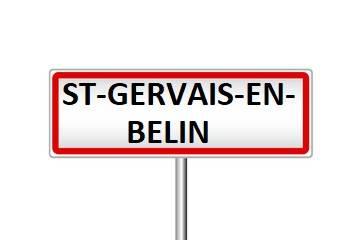 Saint Gervais en Belin